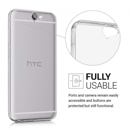Husa Htc One A9 TPU Ultra Thin - transparent2