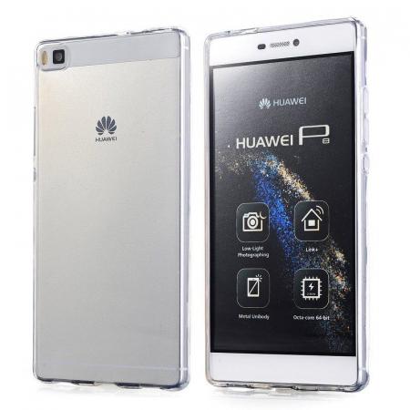 Husa TPU Ultra Thin Huawei P8 - transparent5