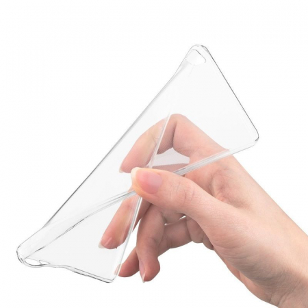 Husa TPU Ultra Thin Huawei P8 - transparent2