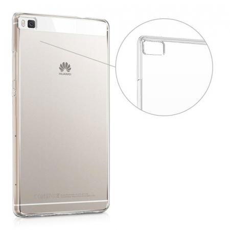 Husa TPU Ultra Thin Huawei P8 - transparent3