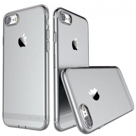 Husa  Iphone 7 - Usams Ultra Thin Soft TPU - argintiu transparent0