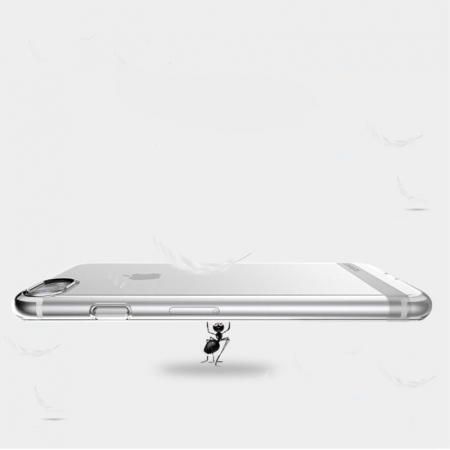 Husa  Iphone 7 - Usams Ultra Thin Soft TPU - argintiu transparent2