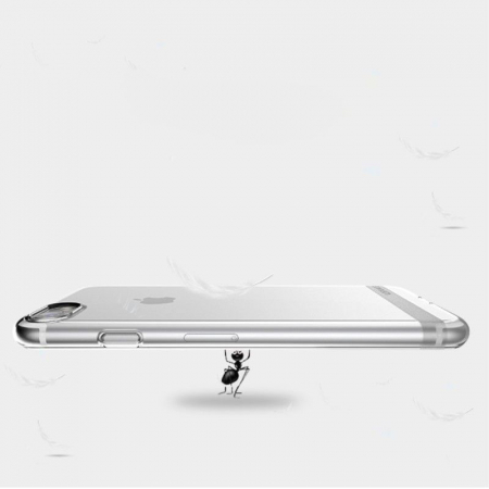 Husa  Iphone 7 - Usams Ultra Thin Soft TPU - transparent6