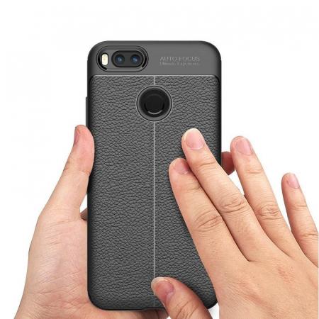 Husa Xiaomi A1 / Mi 5X Tpu Grain - negru4