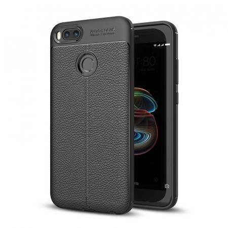 Husa Xiaomi A1 / Mi 5X Tpu Grain - negru0