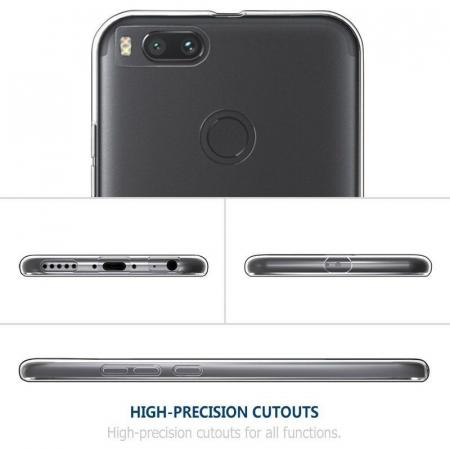 Husa Xiaomi Mi 5X Soft TPU 0.8 mm - transparent2