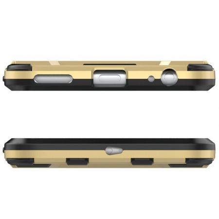 Husa  Xiaomi Mi A1, Mi 5X Slim Armour Hybrid Stand  - negru3