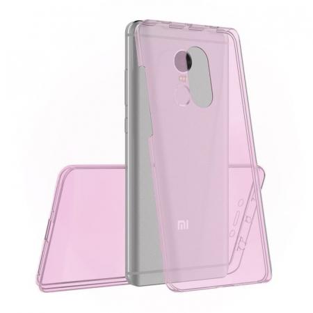 Husa  Xiaomi Redmi Note 4 / Note 4X Silicon TPU 360 grade - rose-gold0