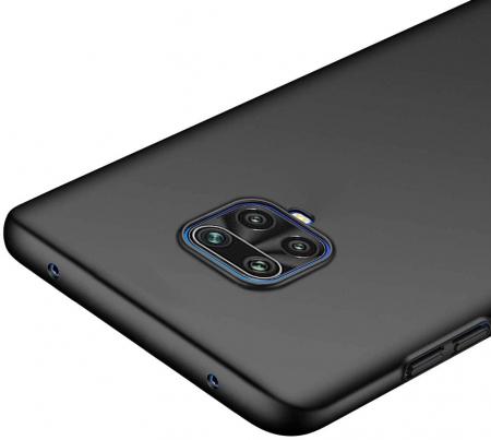 Husa Xiaomi Redmi Note 9 Pro Silicon Matte TPU Extra Slim – negru [1]