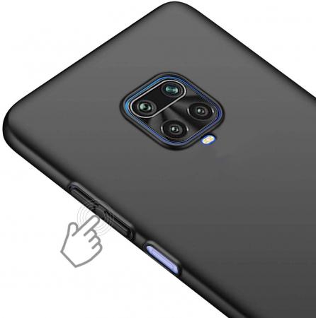 Husa Xiaomi Redmi Note 9 Pro Silicon Matte TPU Extra Slim – negru [2]