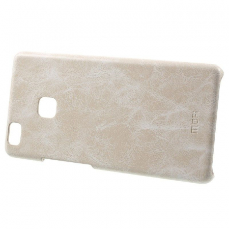 Husa Huawei P9 Lite Leather Hard Case - bej1