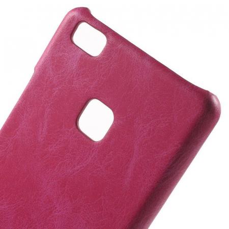Husa Huawei P9 Lite Leather Hard Case - roz4