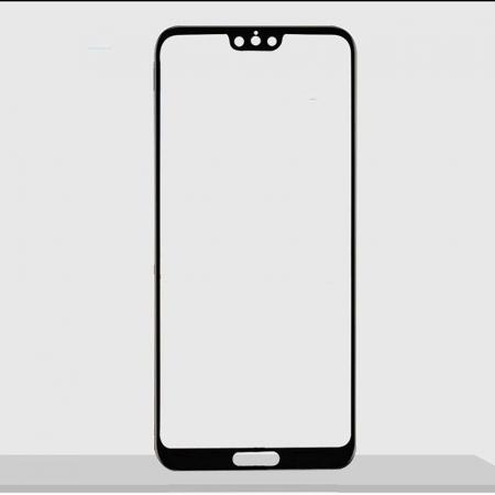 Sticla Securizata 5D Full Glue Huawei P20 - margini negre1