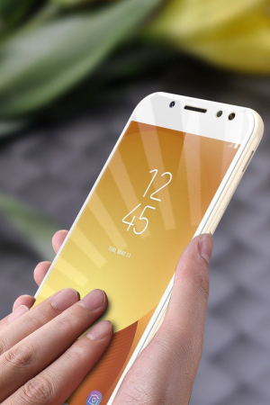 Sticla Securizata 5D Full Glue Samsung Galaxy J5 2017 - alb 1