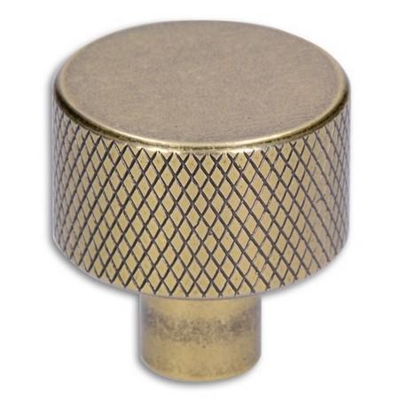 Buton metalic cu striatii aur antic [0]