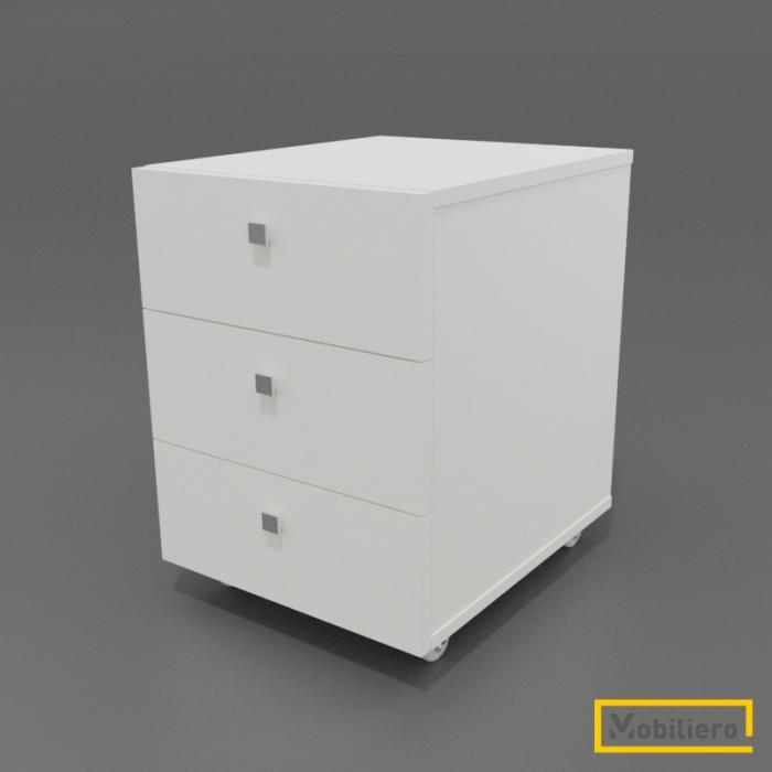 Corp mobil (rollbox) cu 3 sertare 450 x 550 x 615 mm [0]