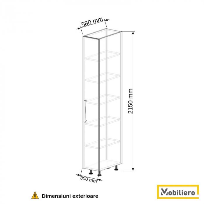Dulap depozitare inalt 300 mm [2]