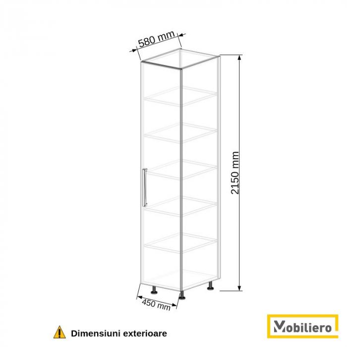Dulap depozitare inalt 450 mm [2]