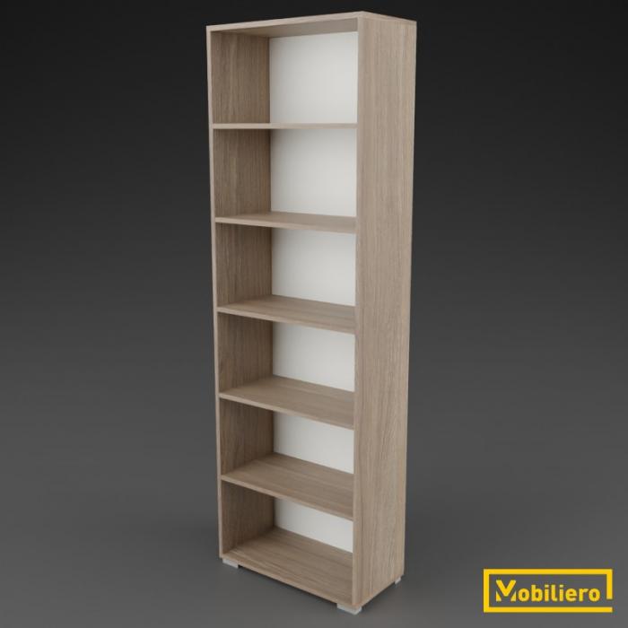 Etajera modulara Duo 6 compartimente 700 x 330 x 2173 mm [0]