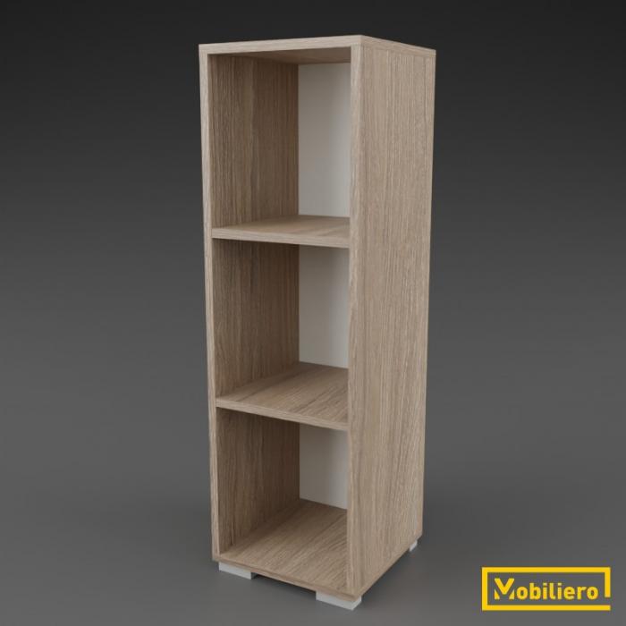 Etajera modulara Uno 3 compartimente 350 x 330 x 1108 mm [0]