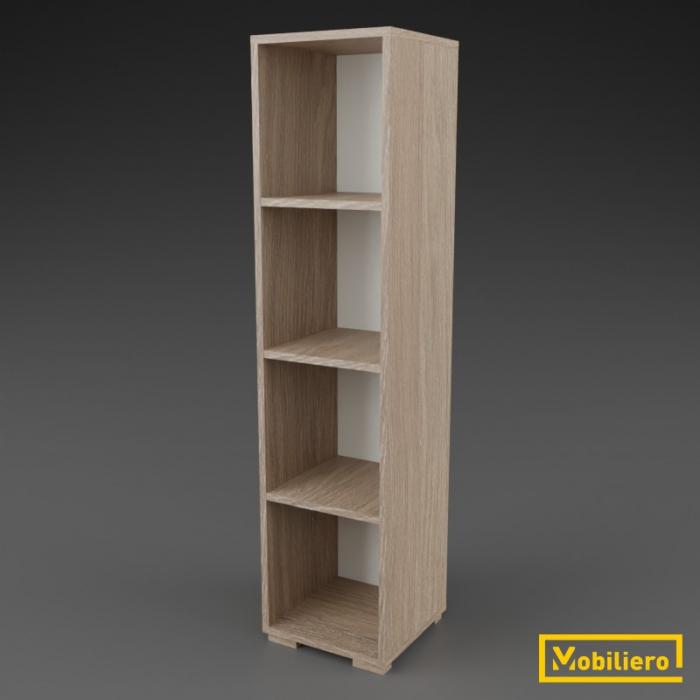Etajera modulara Uno 4 compartimente 350 x 330 x 1463 mm [0]