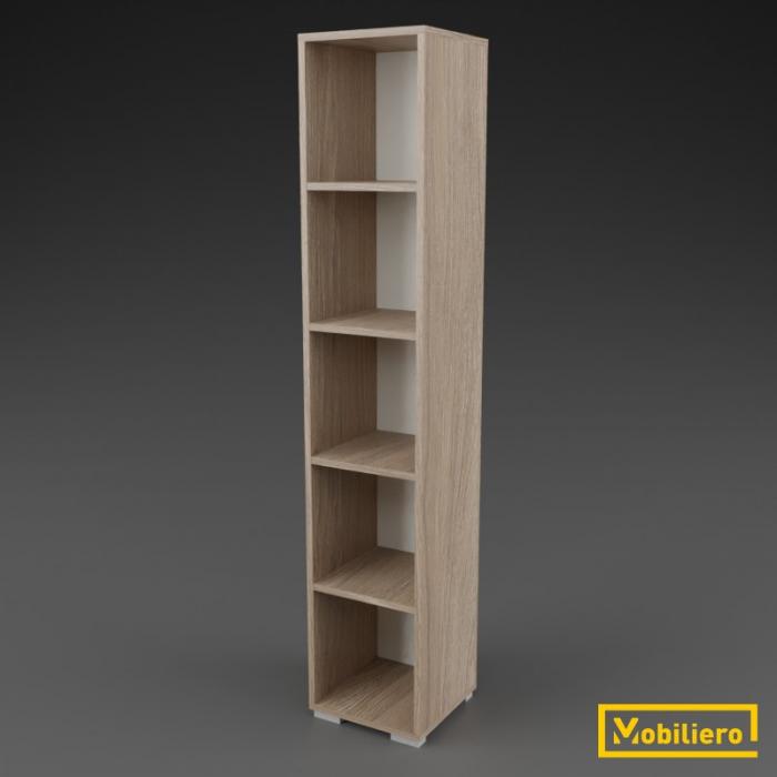 Etajera modulara Uno 5 compartimente 350 x 330 x 1818 mm [0]