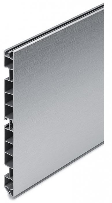 Plinta PVC cu folie de aluminiu  H=100 mm pentru bucatarie [0]