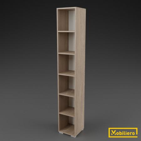 Etajera modulara Uno 6 compartimente 350 x 330 x 2173 mm [0]
