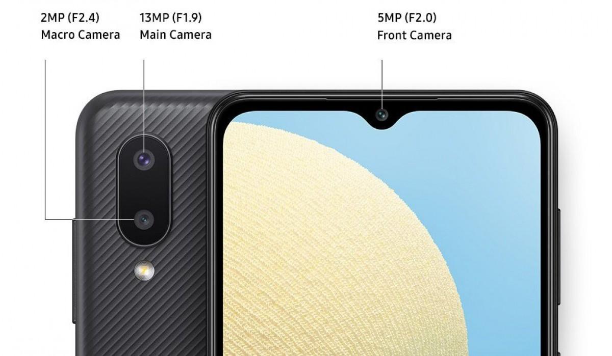 Samsung Galaxy A02 - smartphone ieftin cu baterie de 5000mAh si pana la 64gb spatiu de stocare