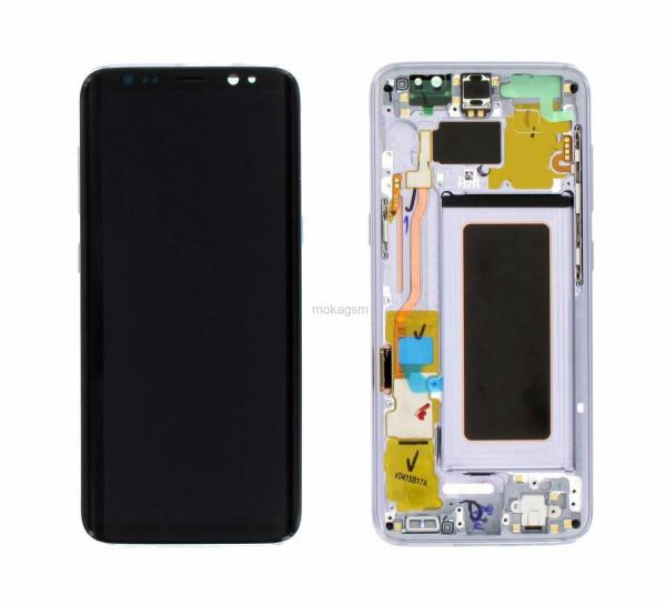 Ecran Display cu rama Samsung Galaxy S8 G950f Blue 0