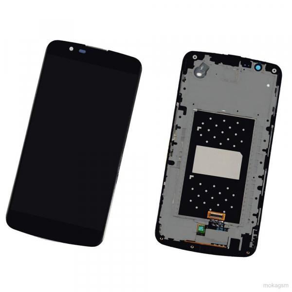 Display cu rama LG K10 K420N cu Touchscreen Original [0]