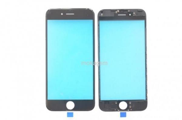 Geam cu rama si Oca pentru Iphone 6 Plus negru [0]