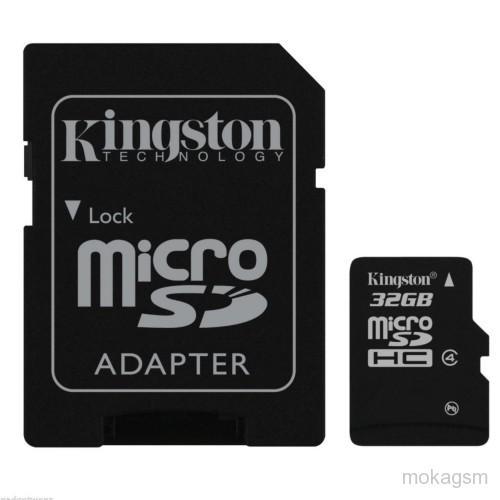 Card memorie 16GB MicroSD™ HC Clasa 10 – cu adaptor SD, Kingston SDC10G2/16GB