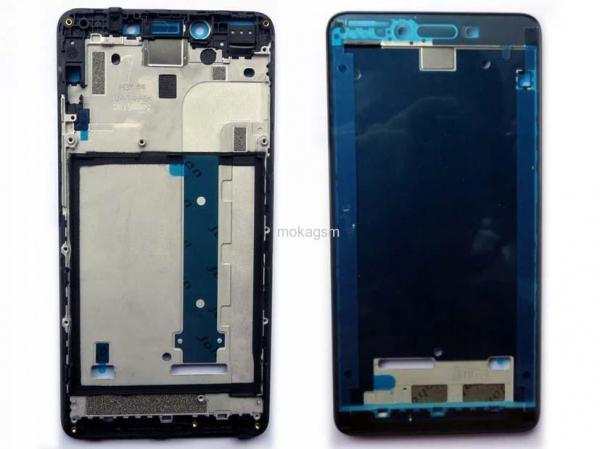 Carcasa mijloc rama Xiaomi Note 5A Alb 0