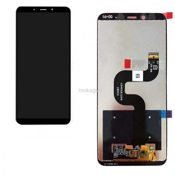 Display cu touchscreen XIAOMI Mi A2, Mi 6X Compatibil Negru 0