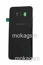 Capac baterie SWAP Samsung galaxy s8 g950F ORIGINAL NEGRU, GH82-13962A [0]
