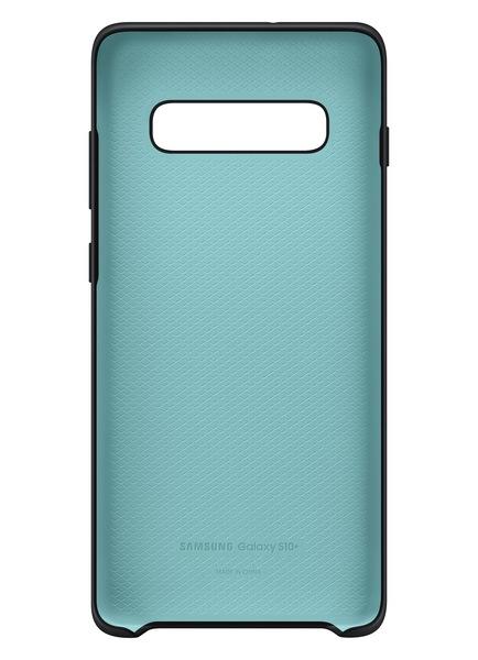 Husa spate Silicone Cover Flexible Gel pentru Samsung Galaxy S10 Plus G975f, neagra 3