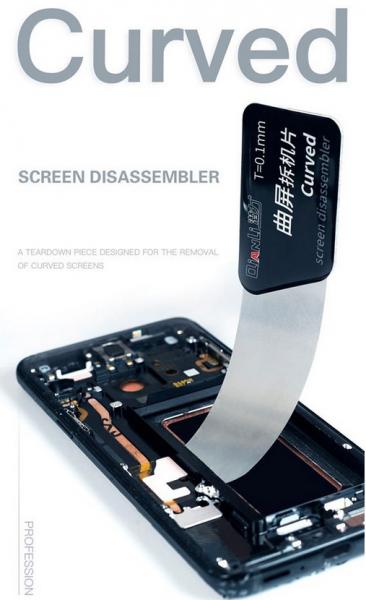 Accesoriu clips metalic desfacut telefoane Qianli Curved Screen Tool 0