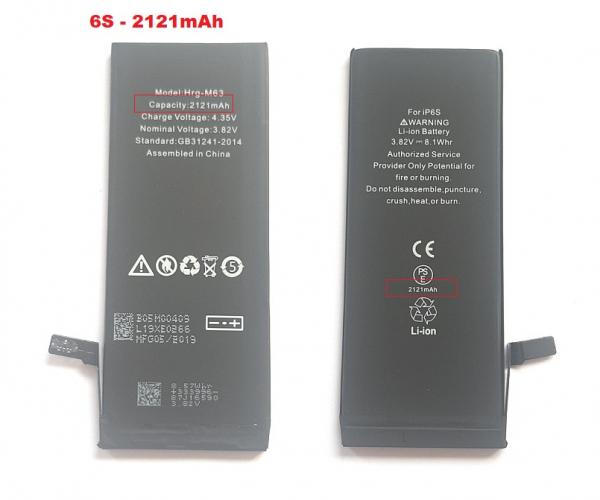 Acumulator Baterie Apple iPhone 6s, 2121mAh, Capacitate marita cu flex IC original [0]