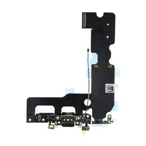 Banda cu conector incarcare microfon Apple iPhone 8 Negru 0