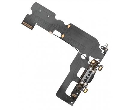 Banda cu conector incarcare microfonApple iPhone 7 Plus Negru [0]