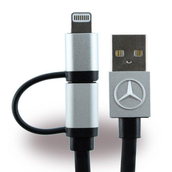 Cablu date iPhone + Micro Usb, Mecedes-Benz Original 0