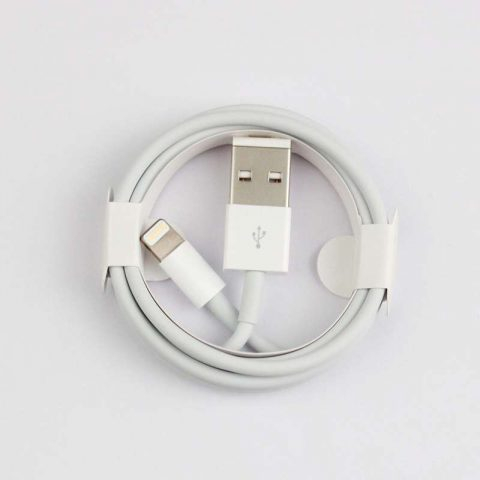 Cablu date iPhone 1m Alb Lighting Cable 0