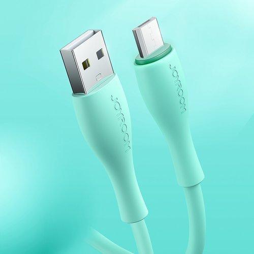 Cablu date Micro USB Joyroom 2.4A 1m alb [4]