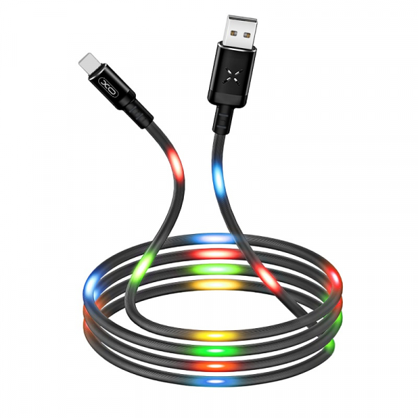 Cablu date USB C Type C 1m 2.1A XO NB108 [0]