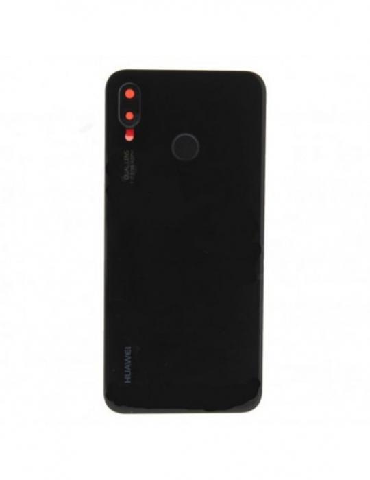 Capac baterie pentru Huawei  P20 Lite Negru Original Service Pack cu amprenta [0]
