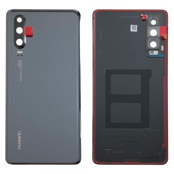 Capac baterie pentru Huawei  P30 Black ELE-L29, ELE-L09 0