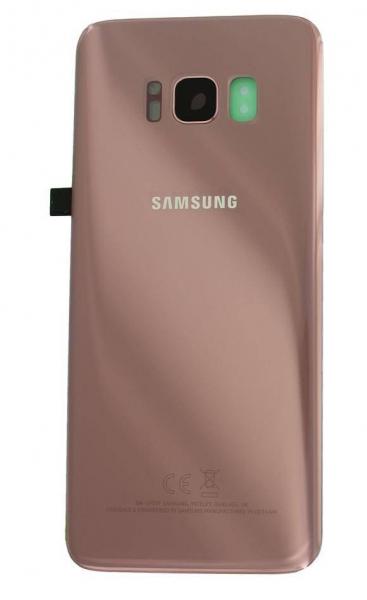 Capac baterie Samsung Galaxy S8 G950F Pink Roz Original 1