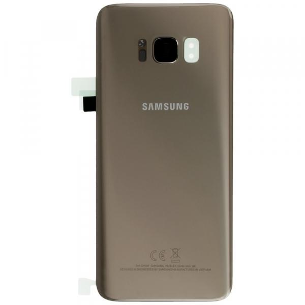 Capac baterie Samsung galaxy S8 G950 Gold Auriu Original 0