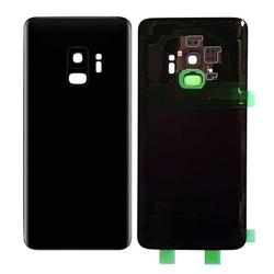 Capac baterie cu sticla camera Samsung Galaxy S9 G960f Negru Compatibil 0
